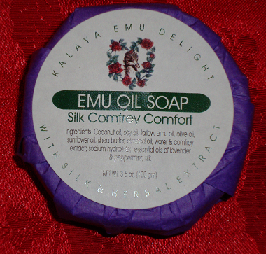 Kalaya Emu Delight - Emu Oil Bar Soap 3.5oz - Comfrey Comfort