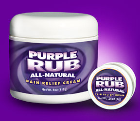 Purple Emu - Purple Rub Pain Relief Cream .25oz (Trial Size)
