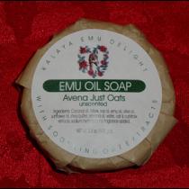 Kalaya Emu Delight - Emu Oil Bar Soap 3.5oz - Just Oats (unscented)
